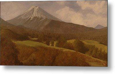 Mt. Fuji Metal Print