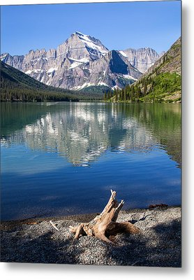 Mt Gould Reflections Metal Print by Jack Bell