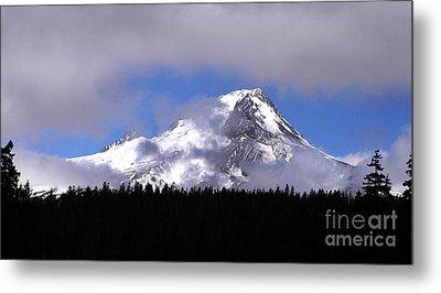 Mt. Hood- Oregon Metal Print by Howard Koby