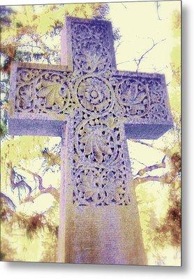 Mt. Hope Cemetery Rochester Ny Metal Print by Jodie Marie Anne Richardson Traugott          aka jm-ART