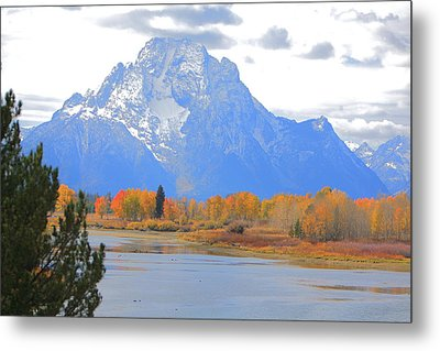 Mt. Moran Majesty Metal Print