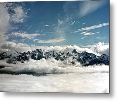 Metal Print featuring the photograph Mt Olympus by Greg Reed