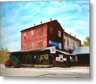 Mt. Pleasant Milling Company Metal Print by Stacy C Bottoms