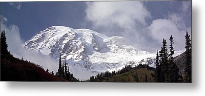 Metal Print featuring the photograph Mt Rainier  by Greg Reed