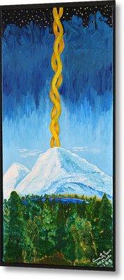 Mt. Shasta Metal Print by Cassie Sears