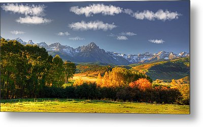 Mt Sneffels And The Dallas Divide Metal Print by Ken Smith