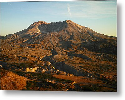 Mt St Helens From Johnsons Observatory Metal Print by Jeff Swan