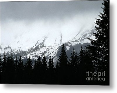 Mt St Helens........a Looming Storm Metal Print by Rich Collins