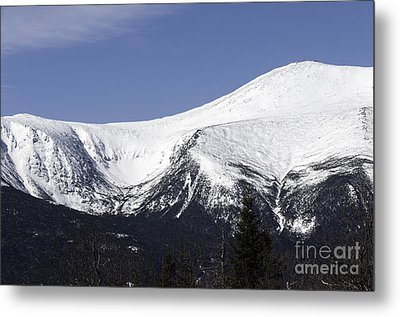 Mt Washington And Tuckerman's Ravine Metal Print by Sharon Seaward