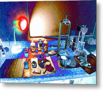 Mud Engineer Metal Print by Lanita Williams