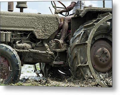 Mud Metal Print