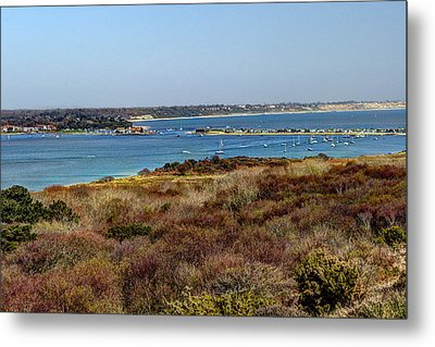 Mudeford Harbour Metal Print