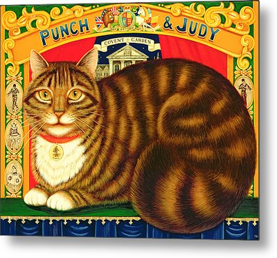 Muffin, The Covent Garden Cat Metal Print