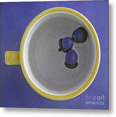 Metal Print featuring the photograph Mug And Finials 4 by Sebastian Mathews Szewczyk