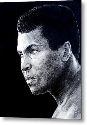 Muhammad Ali Formerly Known As Cassius Clay IIi Metal Print by Jim Fitzpatrick