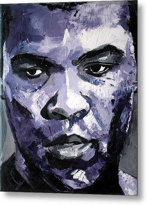 Muhammad Ali Metal Print by Richard Day