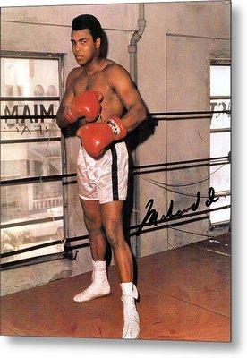 Muhammad Ali Metal Print by Unknown