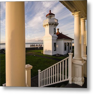 Mukilteo Lighthouse 1 Metal Print by Tracy Knauer
