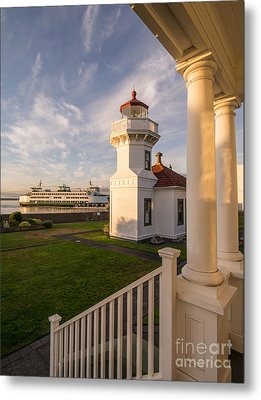 Mukilteo Lighthouse 2 Metal Print by Tracy Knauer