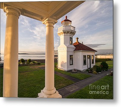 Mukilteo Lighthouse 3 Metal Print by Tracy Knauer