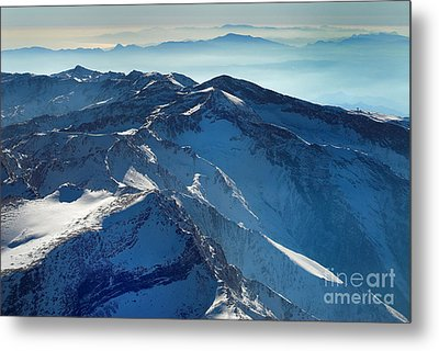 Mulhacen Metal Print by Guido Montanes Castillo