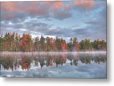 Mullica River Sunrise Metal Print by Greg Vizzi