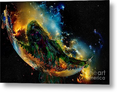 Multiverse Mystery Metal Print