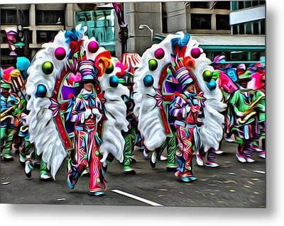 Mummer Color Metal Print by Alice Gipson