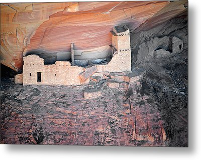 Mummy Cave Ruin Canyon Del Muerto Metal Print by Christine Till
