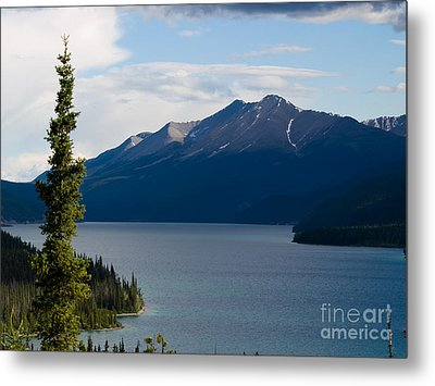 Muncho Lake Metal Print