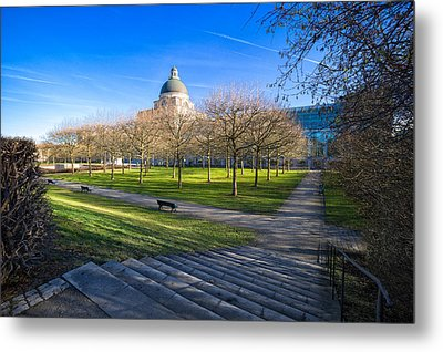 Munich Impression Metal Print by Juergen Klust
