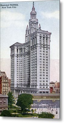 Municipal Building Metal Print by Granger