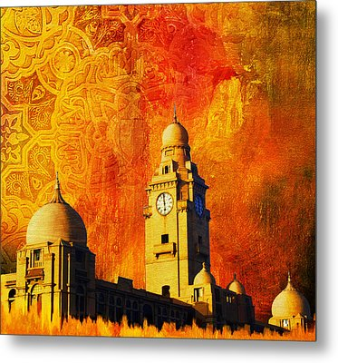 Municipal Corporation Karachi Metal Print