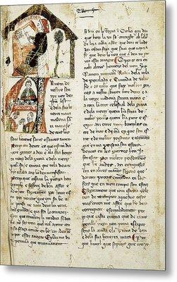Muntaner, Ramón 1265-1336. Catalan Metal Print by Everett
