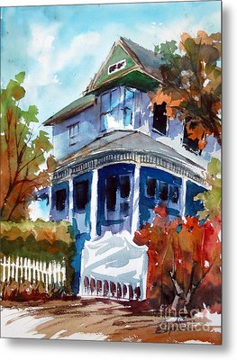 Munzesheimer Manor B B Mineola Tx Metal Print by Ron Stephens