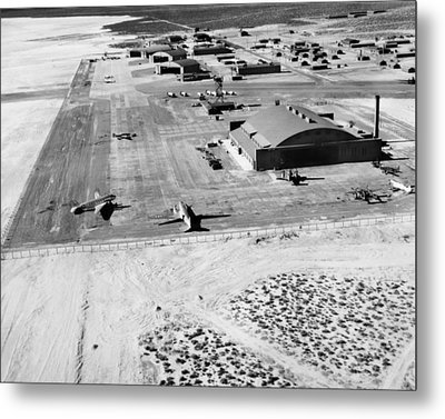 Muroc Flight Test Base, 1945 Metal Print by Science Photo Library