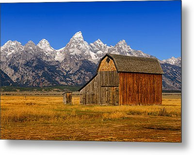 Murphy Barn Metal Print by Greg Norrell