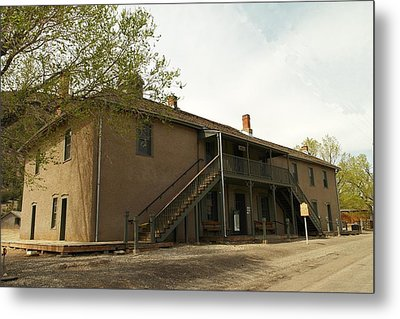 Murphy Store Lincoln City New Mexico   Metal Print by Jeff Swan