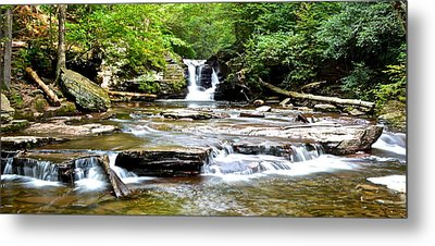 Murray Reynolds Falls Metal Print by Frozen in Time Fine Art Photography