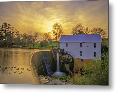 Murrays Mill Metal Print by Marion Johnson