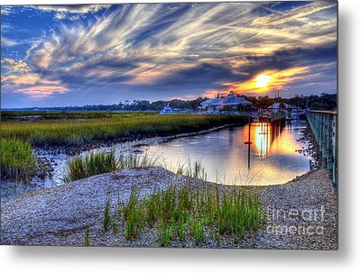 Murrells Inlet Sunset 4 Metal Print