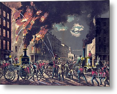 Muscle And Steam 1861 Metal Print by Padre Art