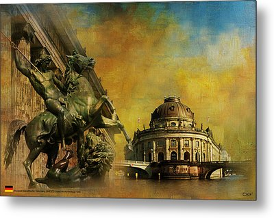 Museum Island Metal Print by Catf