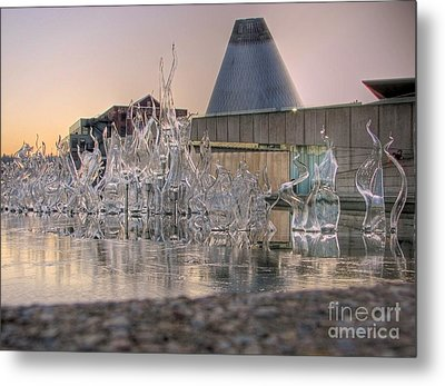 Metal Print featuring the photograph The Museum Of Glass by Chris Anderson