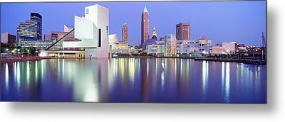 Museum, Rock And Roll Hall Of Fame Metal Print