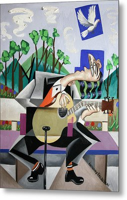 Music A Gift From The Holy Spirit Metal Print by Anthony Falbo