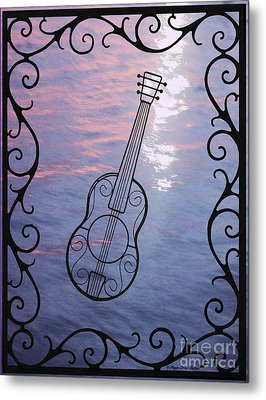 Music And Light Metal Print by Megan Dirsa-DuBois