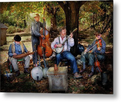 Music Band - The Bands Back Together Again  Metal Print by Mike Savad