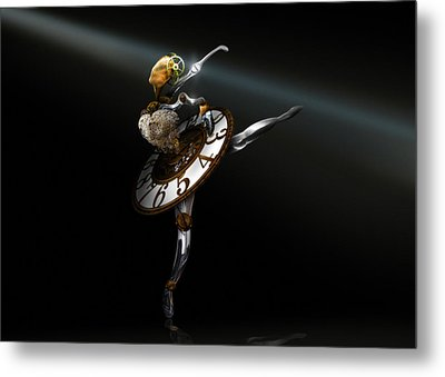 Music Box - The Dance Of Hours Metal Print by Alessandro Della Pietra