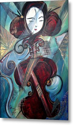 Music Of My Life Metal Print